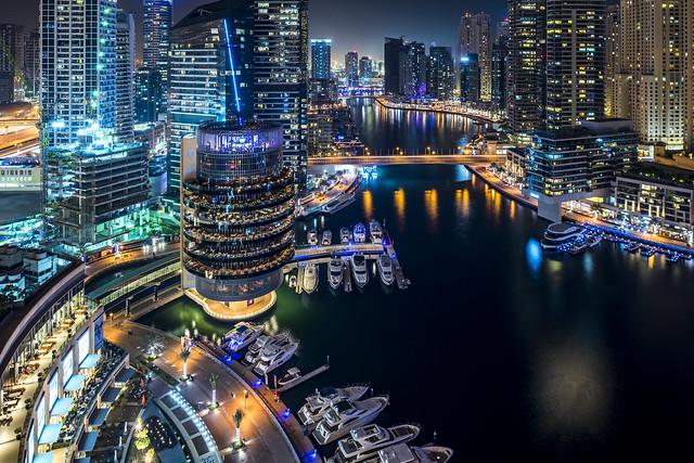 Dubai Marina, Nikon D810, PC-E Nikkor 24mm f/3.5D ED