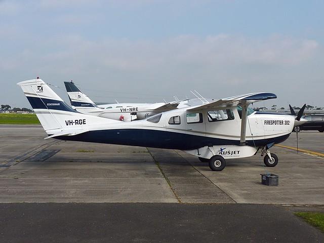 VH-RGE Cessna U206F Stationair, Panasonic DMC-FZ35