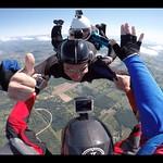 4 Way Skydive With Deb McCann, Rick Sales, Russ Lombardo and Christina Kase