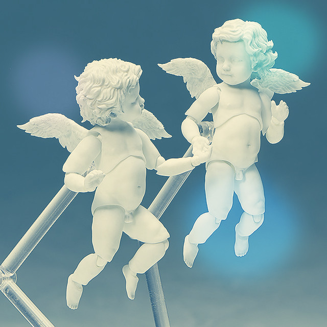 單飛比較紅? figma 《桌上美術館(テーブル美術館)》「天使像 單人ver.」可愛不減!
