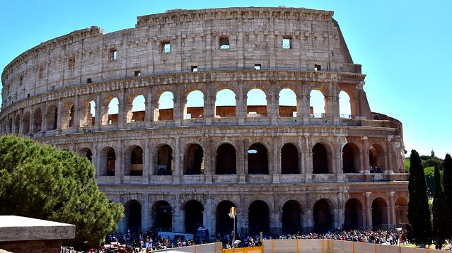 Colosseum, Roma, Nikon D5300, AF-S DX VR Zoom-Nikkor 18-200mm f/3.5-5.6G IF-ED [II]