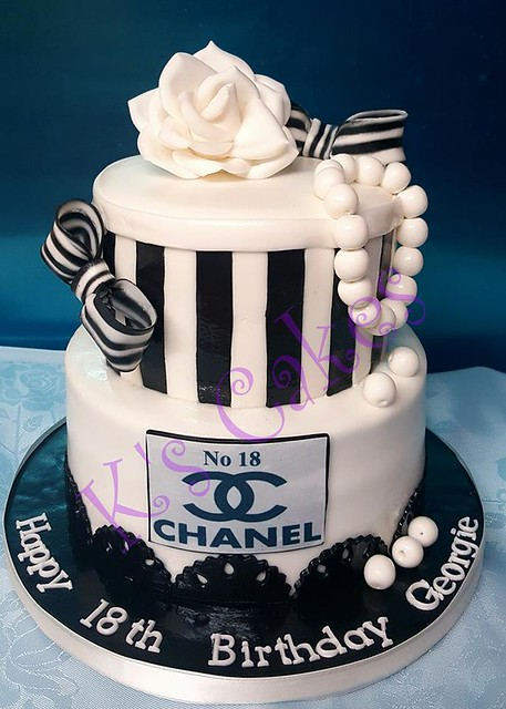 Chanel Cake by K's Cakes