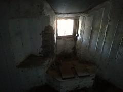 Εξερευνήσεις σε τμήμα του οχυρού που δεν έχει αξιοποιηθεί.
