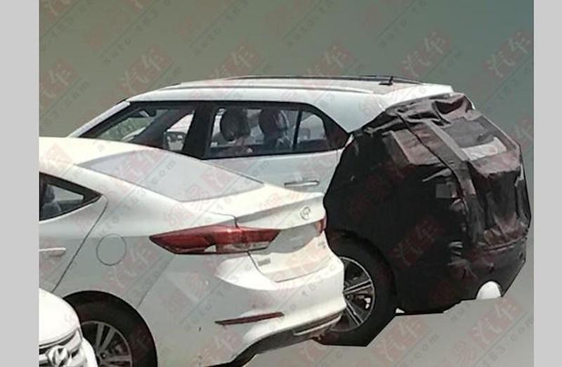 2018 hyundai creta. simple hyundai 2018 hyundai creta facelift spotted testing in china for hyundai creta d