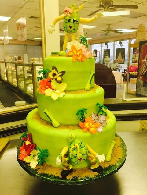 Cake by Joe Gambino's Bakery
