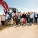 2017_05_17 Premier coup de pelle lotissement Mathendahl- Niederkorn