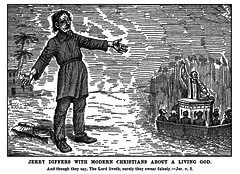 Jerry Differs With Modern Christians About A Living God (Truth Seeker, December 3, 1892)