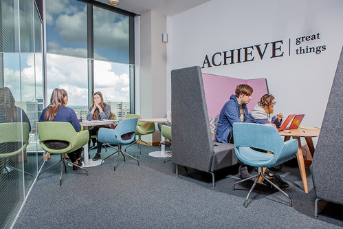 Bristol Business School breakout space