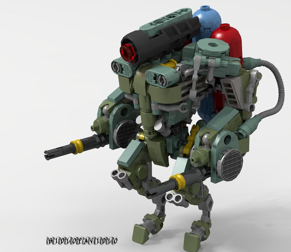 The Purifier (custom built Lego model)