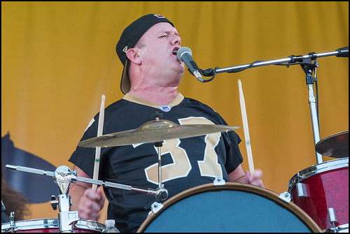 Cowboy Mouth during Jazz Fest day 7 on May 7, 2017. Photo by Ryan Hodgson-Rigsbee www.rhrphoto.com