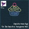 [ free bird ] Cupcake Neon Sign for the Cupcakes Anonymous Hunt