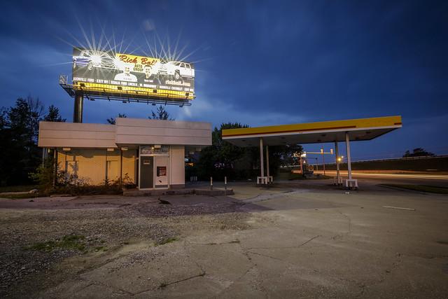 Abandoned Gas Station III