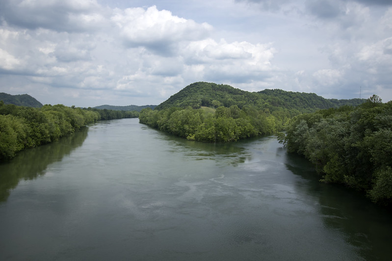 Cumberland River and Obey River confluence, Clay County, Tennessee