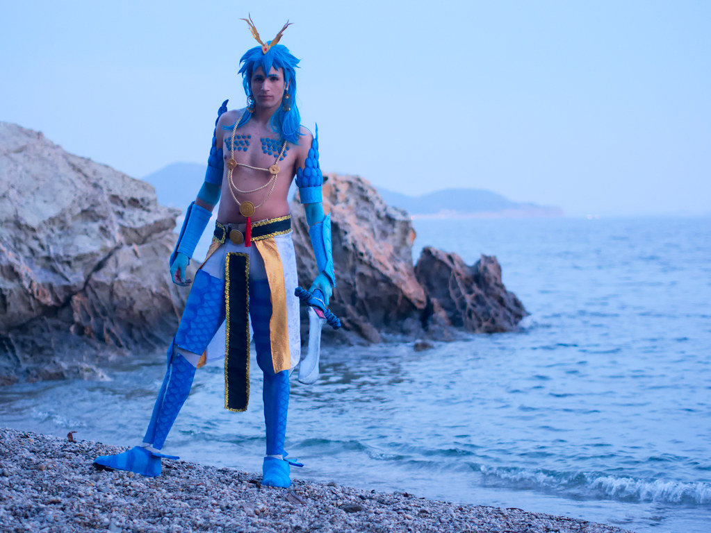 related image - Shooting Magi The Labyrinth of Magic - Plage de la Mître - Le Mourillon - 2017-04-14- P2040043
