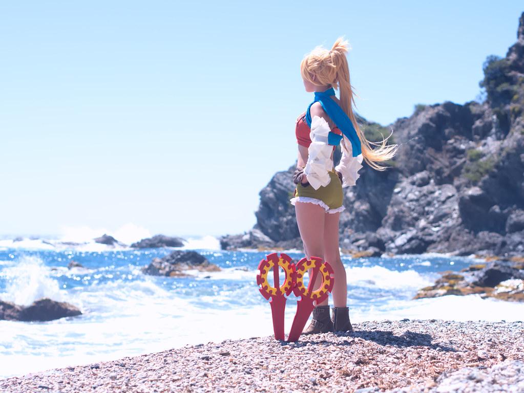 related image - Shooting Rikku - Final Fantasy X-2 - Calanque du Mont Salvat -2017-05-07- P2070113