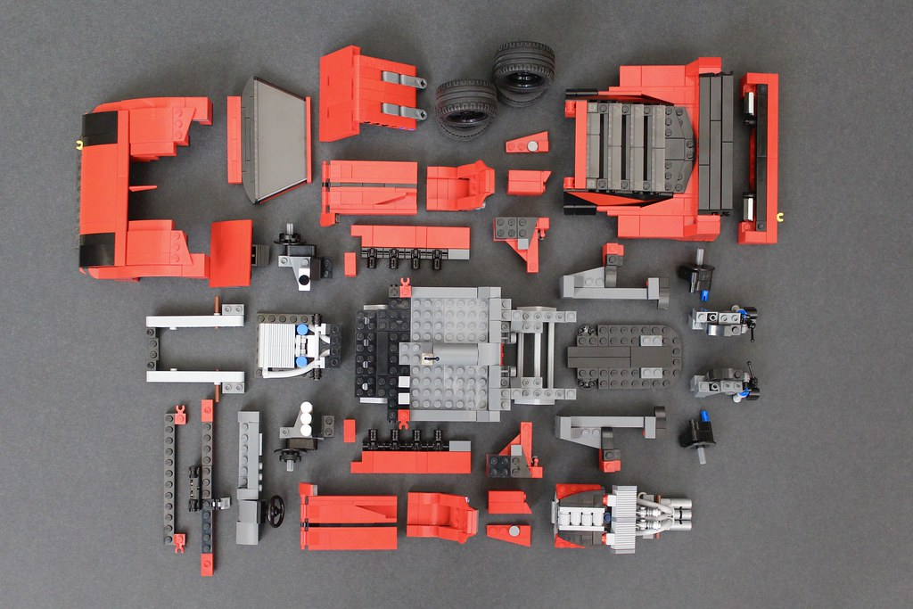 Ferrari F40 LM Super-Mod: Some assembly required.