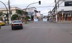 Reparan tubería de agua potable en calle Bolívar - Chone