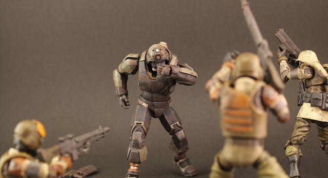 從地獄再度輪迴的恐怖部隊!《酸雨戰爭》地獄部隊 - 重生士兵 Acid Rain Reborn trooper(Omanga military)