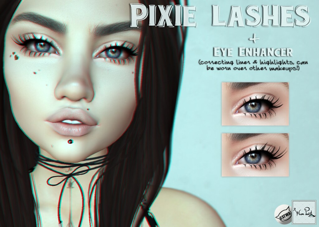 WarPaint* @ AnyBODY - Pixie lashes - SecondLifeHub.com