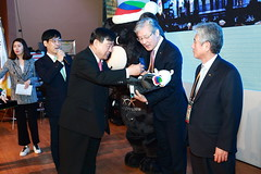 Appointment ceremony of POCOG's consultant in the 19th World OKTA Leaders Convention