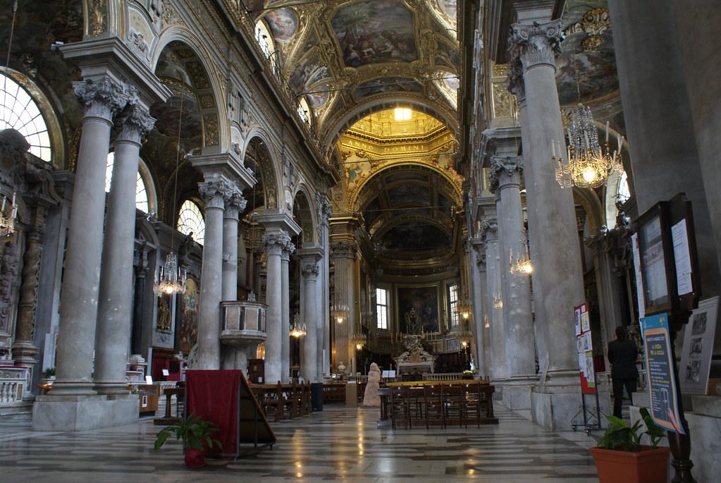 Basilique Santa Maria delle Vigne à Gênes