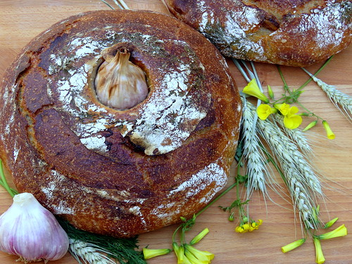 Spring Garlic Bread