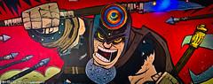 Wall Mural @ Tijuana Flats Tex-Mex restaurant