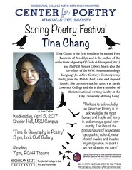 Tina Chang Flyer