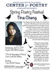 Tina Chang Flyer