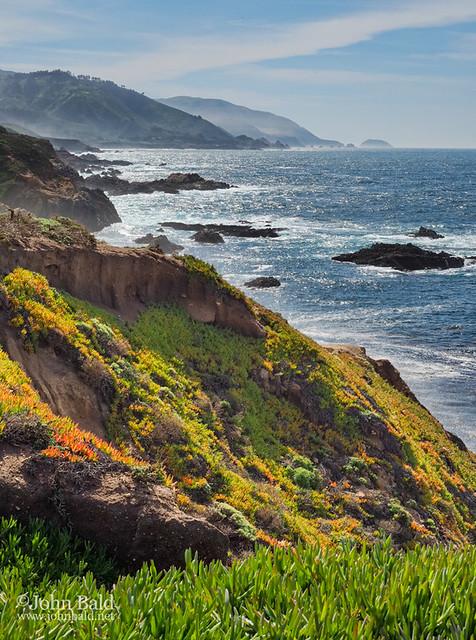 Late Winter, Big Sur Coastline, California (30248-30251)