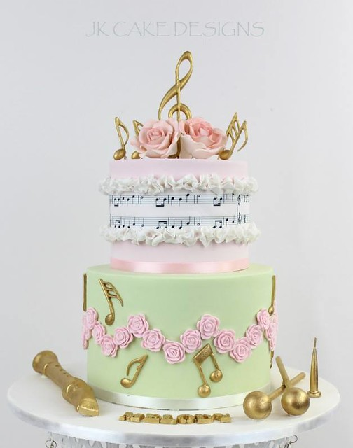 Cake by JK Cake Designs