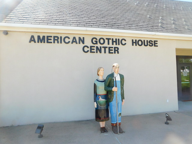 Header of American Gothic House