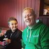 Com meu sobrinho Ben #familia #inglaterra #pub