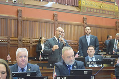 Rep. Skulczyck introduces officers from around the state during National Peace Officers Week. 5.16.17