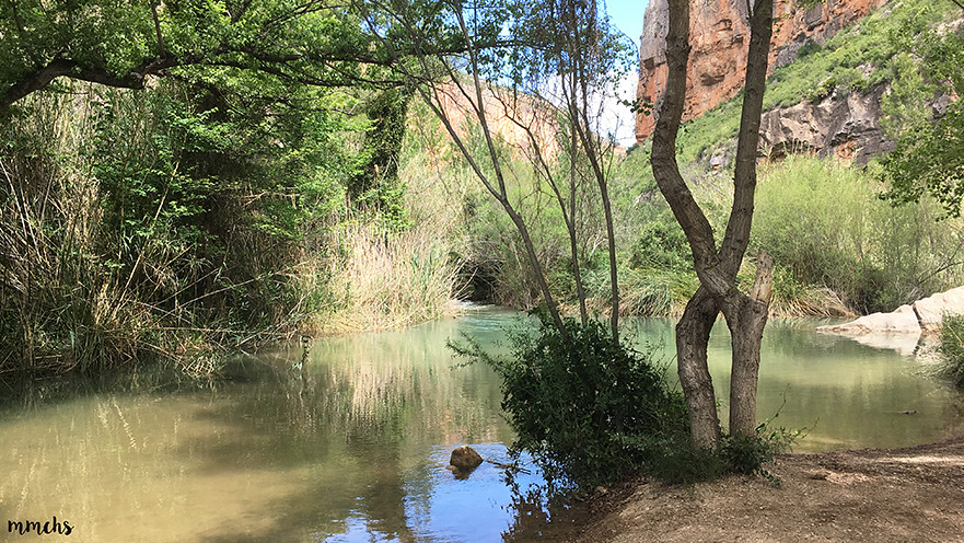 ruta del charco azul Chulilla