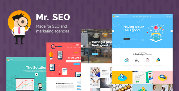 Mr. SEO v1.6 - A Friendly SEO, Marketing Agency, and Social Media Theme