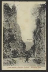 Chatillon-en-Diois (Drôme). - Route des Gats