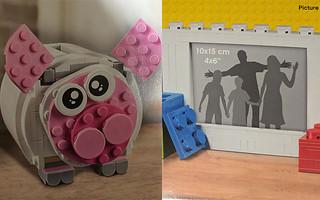 什麼~LEGO 40173【樂高相框】、40251【小豬撲滿】 靜悄悄地出現了?!