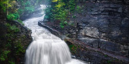 spring stateparks upstateny luciferfalls mist newyork steam earlymorning springinthefingerlakes waterfalls ithacanewyork ethereal rage roberthtremanstatepark fog nature cloudy water fingerlakesregion