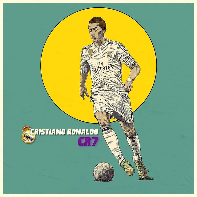 The best in the World @Cristiano Ronaldo from @realmadrid @autodesksketchbook @autodesk_sketchbook @autodesk @pixlr @sketchbookapp @pixlr @shift_by_pixite @overappofficial #illustration #illustrationdaily #sketchbookpro #sketchbookproapp #sketchbookmobile