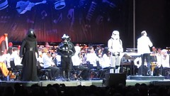 Star Wars Characters On The Stage
