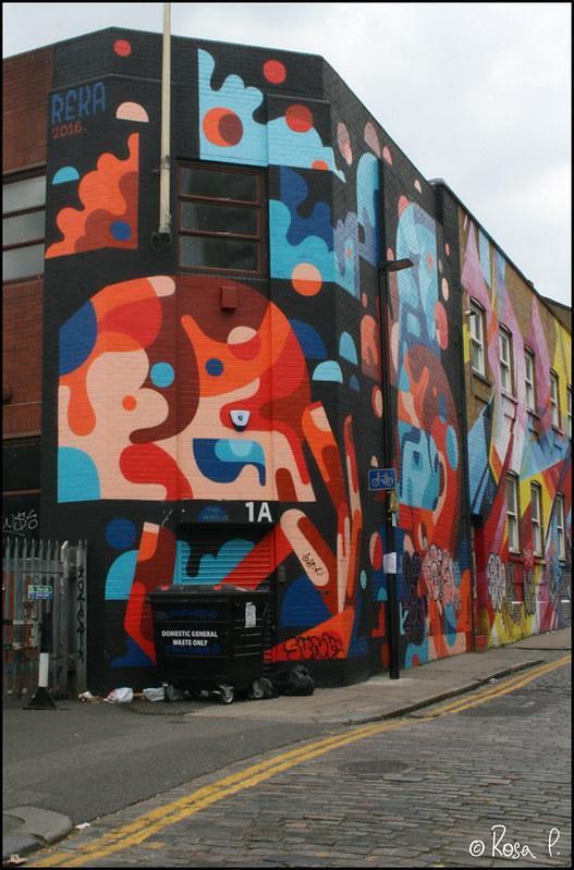 UK - London - Graffiti House