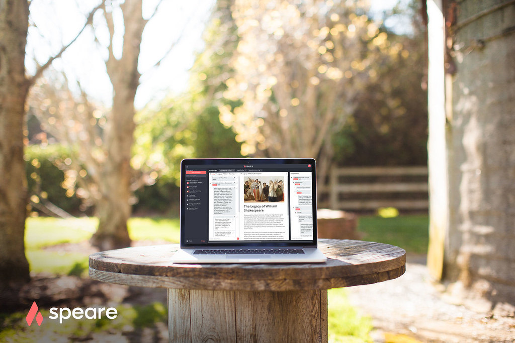 speare-hybrid-word-processor-web-app | Speare, the future of