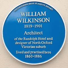 Photo of William Wilkinson blue plaque