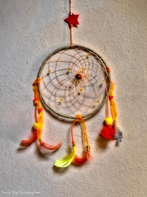 attrape-rêve fait maison par ma squaw...