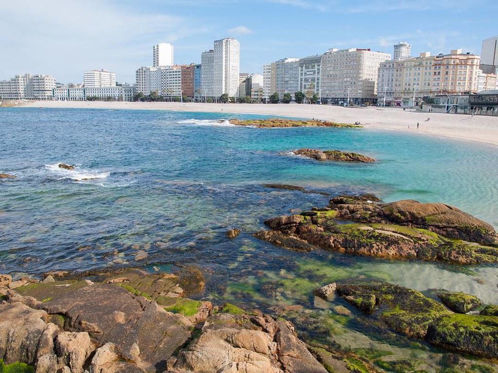 Riazor colours. #riazor #beach #spring #photography #olympus #Coruña