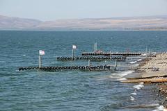 Sea of Galilee at Ein Gev