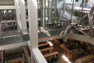 SF Public Library - Main branch 6flr bridge more