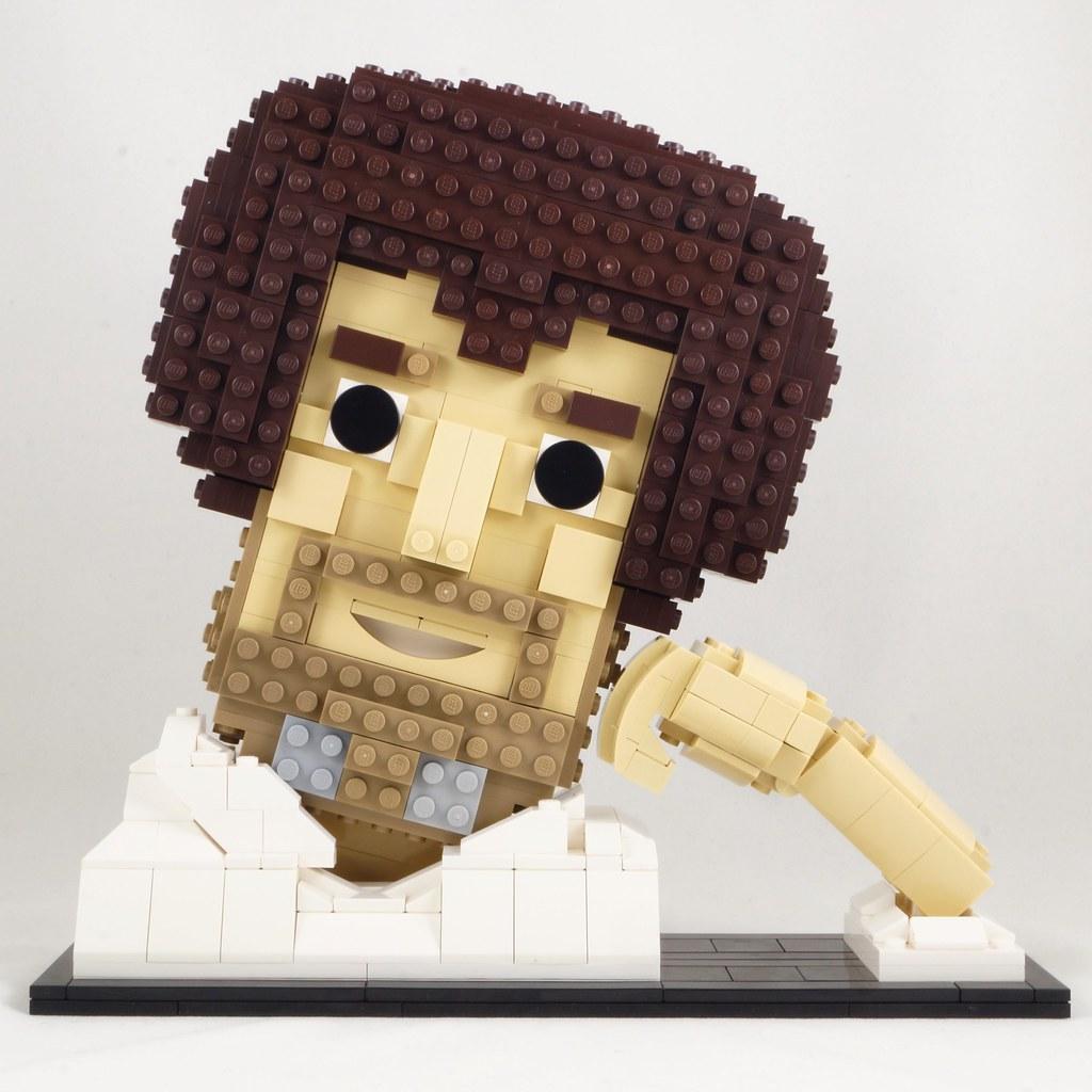 CoolStoryBob (custom built Lego model)