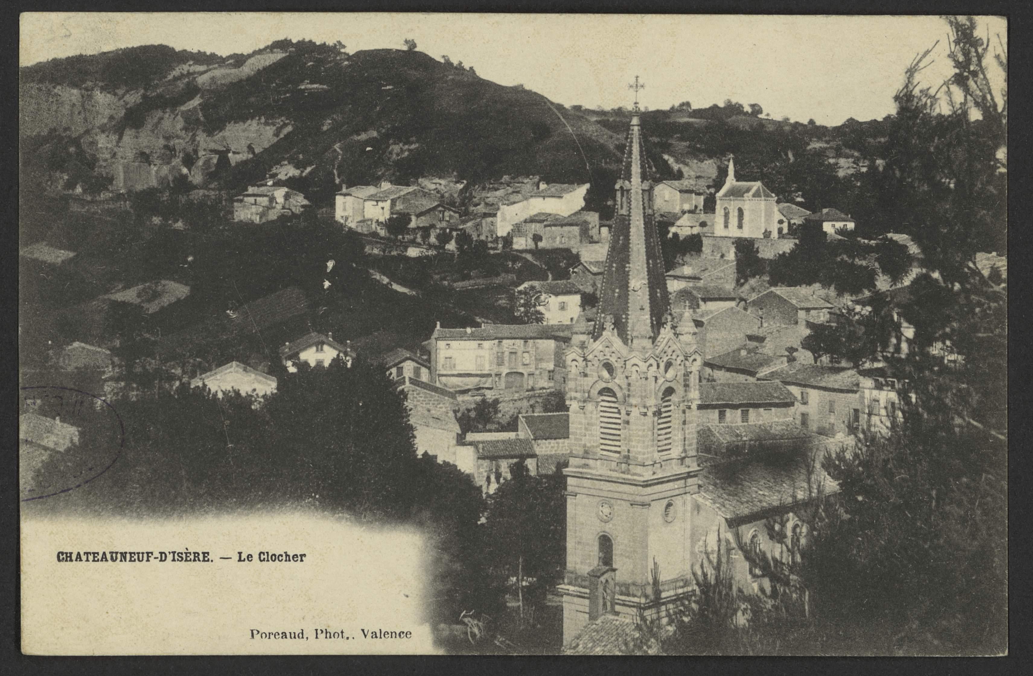 Chateauneuf d'Isère. - Le Clocher